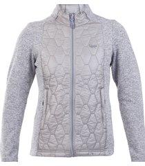 chaqueta insualdos steam-pro gris claro lippi