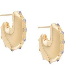 maria black caramella earrings - gold