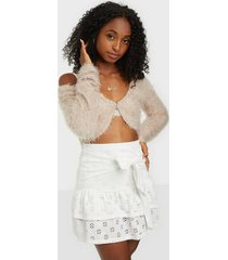 nly trend flirty frill skirt minikjolar