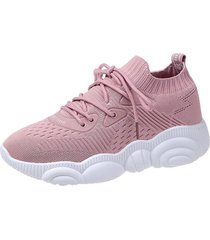 calzado casual plataforma deportiva zapatos mujer