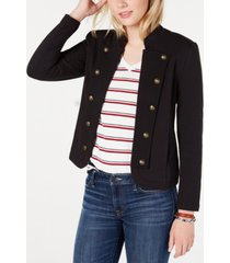 tommy hilfiger military band jacket