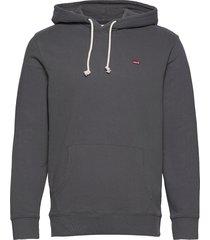 new original hoodie gray ore hoodie trui grijs levi´s men