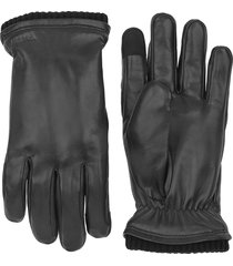 hestra black john gloves |black| 23570-100