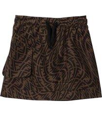 fendi brown girl skirt