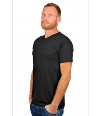 alan red t-shirt vermont black ( extra long)