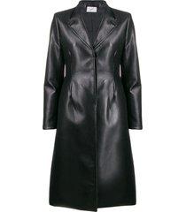coperni a-line tailored jacket - black
