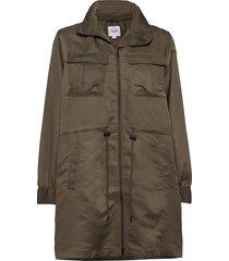 u7011, jacket parka lange jas jas groen saint tropez