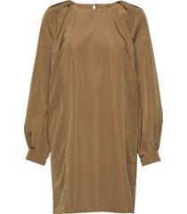 2nd tricia jurk knielengte bruin 2ndday