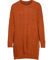 onldora l/s pullover knt stickad tröja röd only