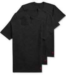 polo ralph lauren men's to 4d flex lux cotton modal 3-pk crews