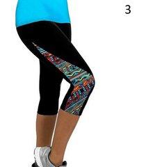 women leggings capris printed black milk clzas deportivas mujer capri summer