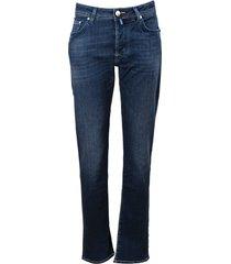 jacob cohen cotton blend jeans