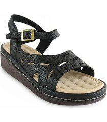 priceshoes sandalia casual dama 6922080negro