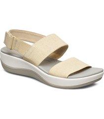arla jacory shoes summer shoes flat sandals creme clarks