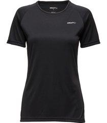 craft prime tee w view t-shirts & tops short-sleeved svart craft
