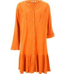 abito in tessuto stropicciato (arancione) - john baner jeanswear