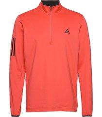 3str mdwt sweat-shirt tröja röd adidas golf