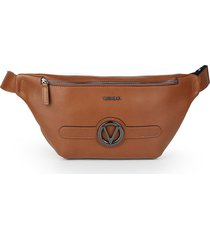 valentino by mario valentino men's mickey leather waist bag - tobacco