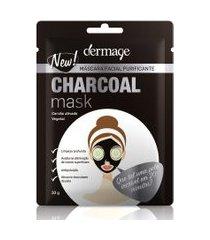 máscara facial charcoal dermage | dermage | 10g