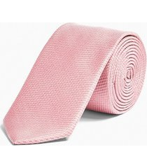 mens classic pink tie