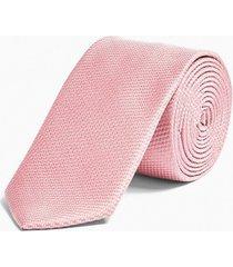 mens classic pink tie