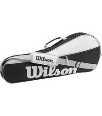 bolso tenis raquetero advantage pro wilson 3 raquetas
