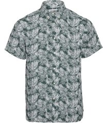 larch ss palm shirt pineneedle