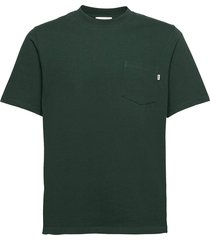 bobby pocket t-shirt t-shirts short-sleeved groen wood wood