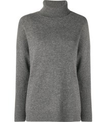chinti and parker loose cashmere sweater - grey