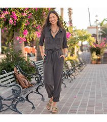 all roads jumpsuit - petites