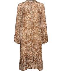 elma shirt dress aop 9695 knälång klänning multi/mönstrad samsøe samsøe