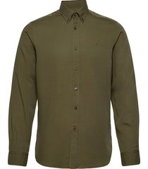 winston button down shirt overhemd casual groen morris
