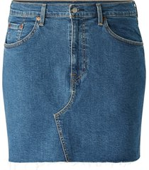 jeanskjol deconstructed skirt