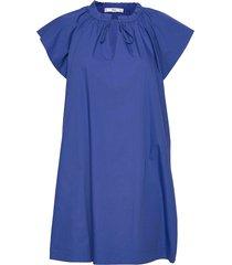 deep kort klänning blå mango