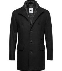 kali wool coat wollen jas lange jas zwart j. lindeberg