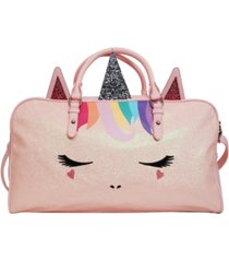 omg! accessories rainbow hair miss gwen unicorn duffle bag