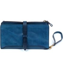 old trend casey leather clutch