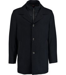 bos bright blue geke coat 19301ge01bo/290 navy