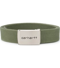 carhartt wip canvas belt - green