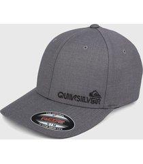 gorra gris-negro quiksilver sidestay