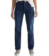 lucky brand bridgette straight-leg ankle jeans
