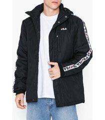 fila orlando paddes jacket jackor black