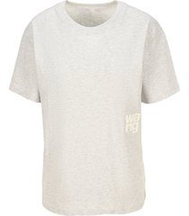 t by alexander wang logo t-shirt