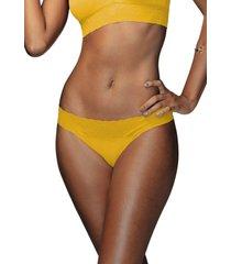 calcinha biquãni carãbidis demillus 53331 amarelo ouro - amarelo - feminino - dafiti