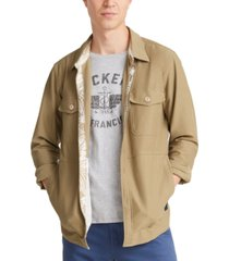 dockers men's supreme flex shirt jacket, created for macy's