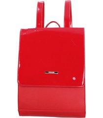 mochila aliso rojo pollini
