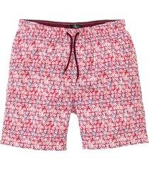 shorts da spiaggia lunghi (rosso) - bpc bonprix collection