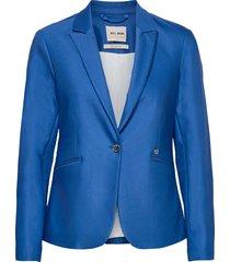blake night blazer sustainable blazers casual blazers blå mos mosh