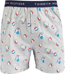 tommy hilfiger men's printed cotton boxers