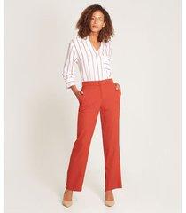pantalón ancho formal